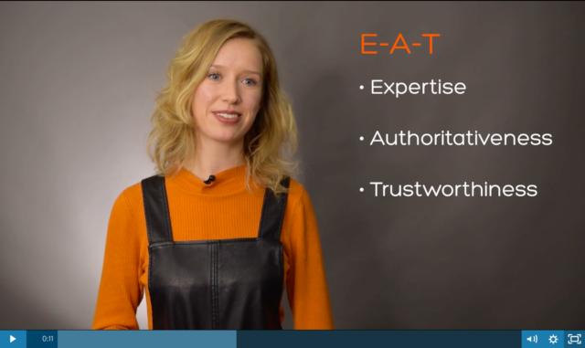 E-A-T Factors Video
