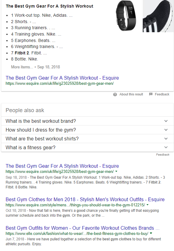 Best Gym Gear Google Search