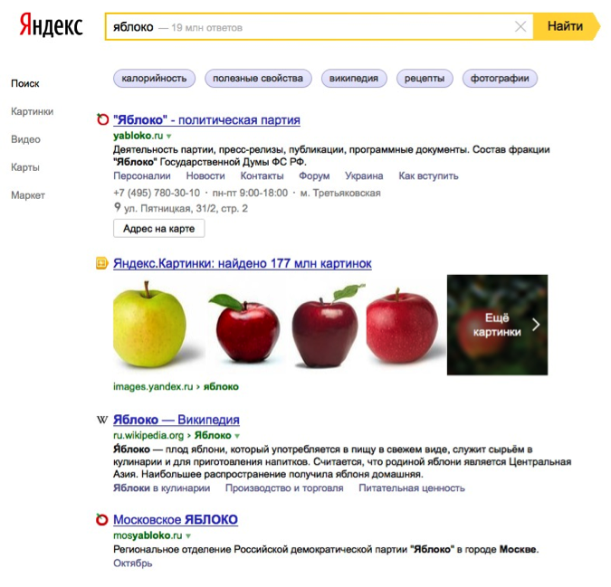 Search in Russia: Google v Yandex Linguistic Test - State of