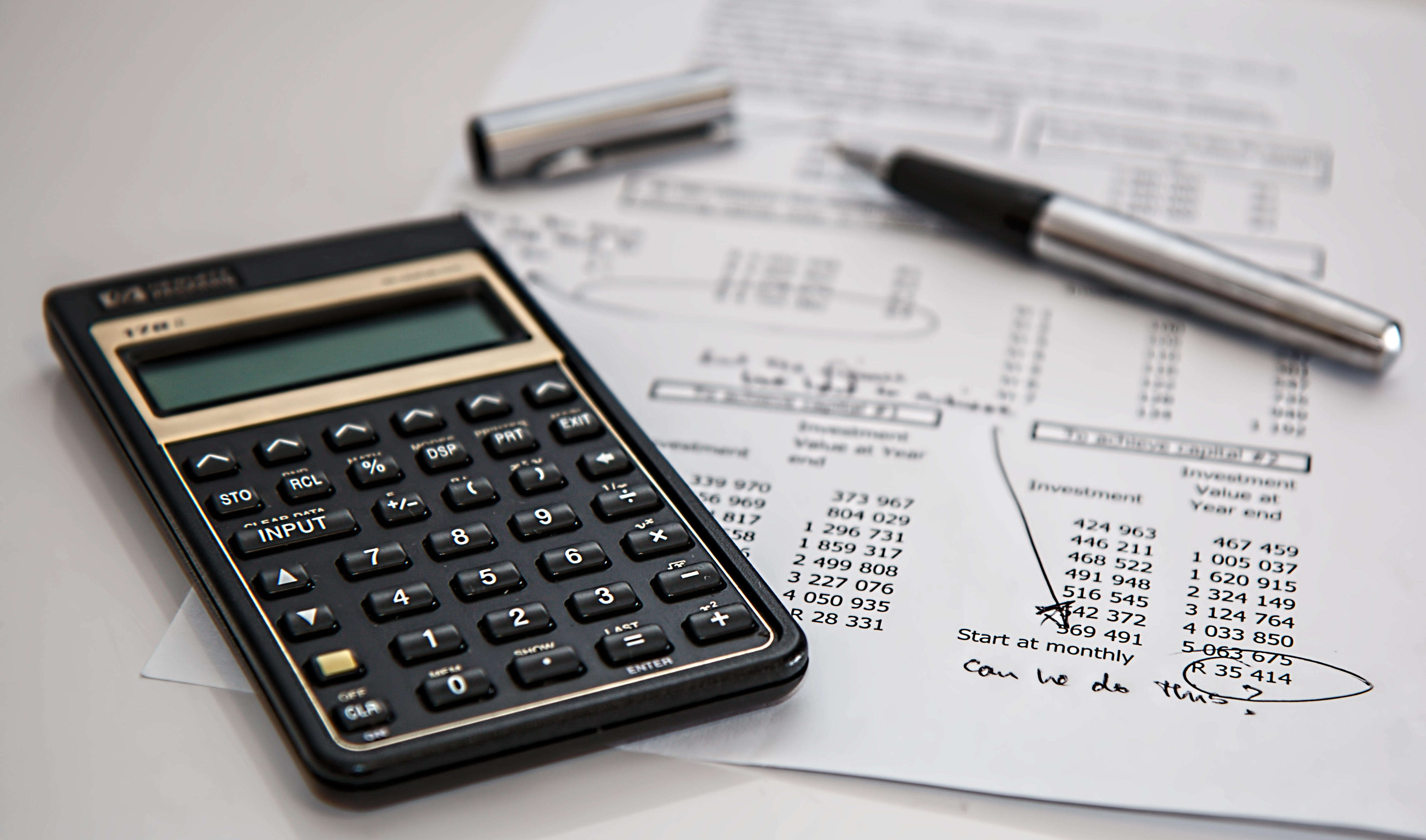 Calculator and budget sheets for skills for content marketers article