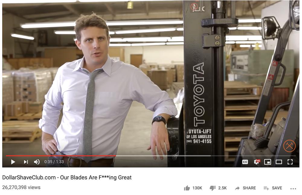 Dollar Shave Club video