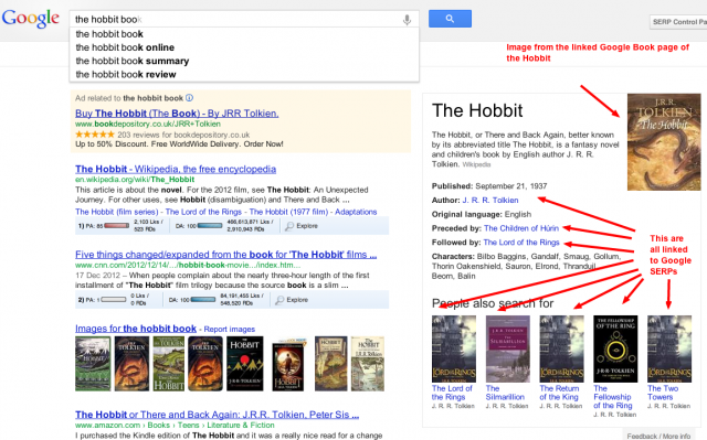 the hobbit book   Google Search Knowledge Graph