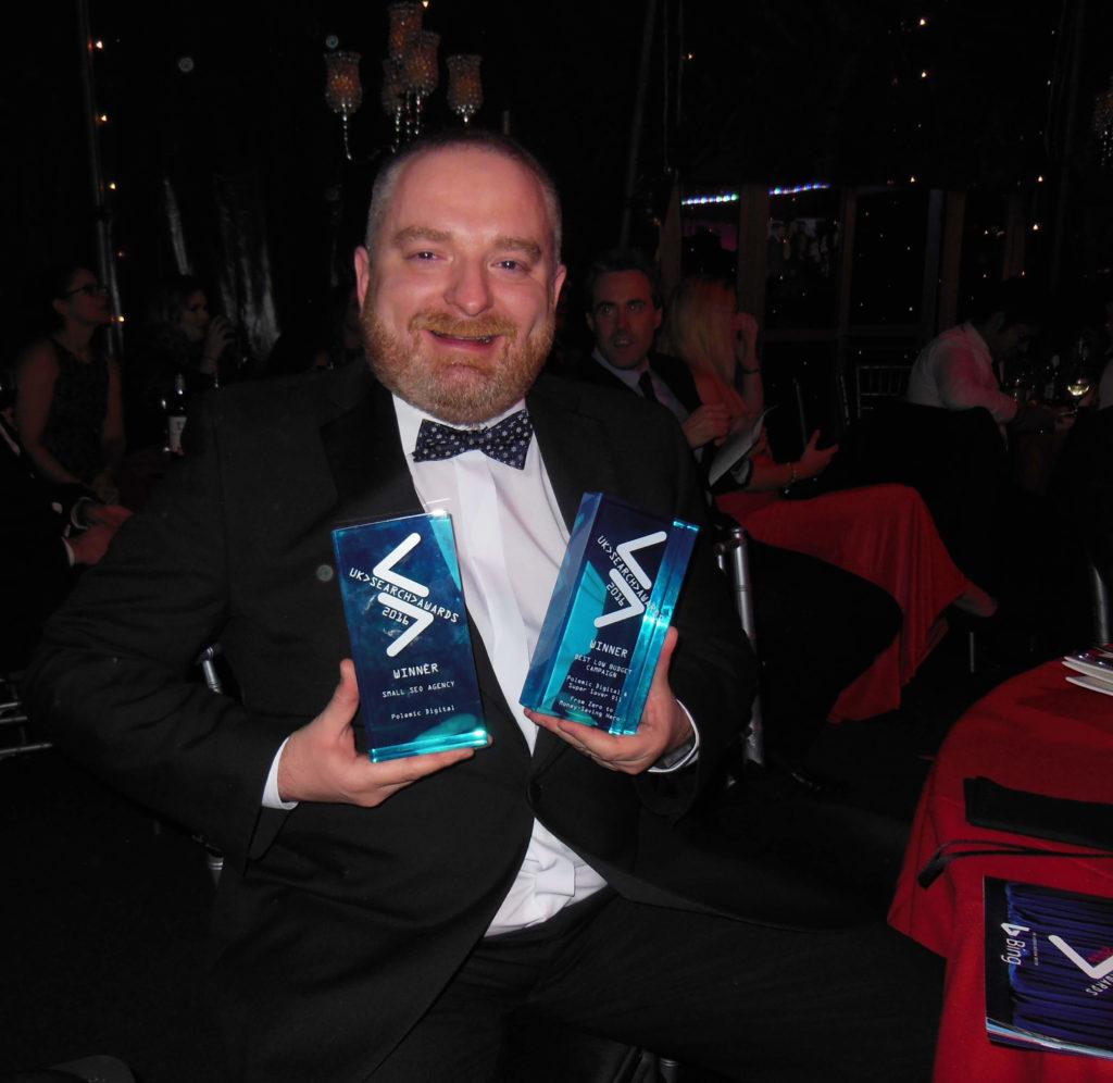 Barry Adams UK Search Awards 2016