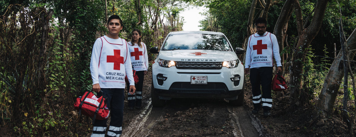 Land Rover British red Cross Digital PR