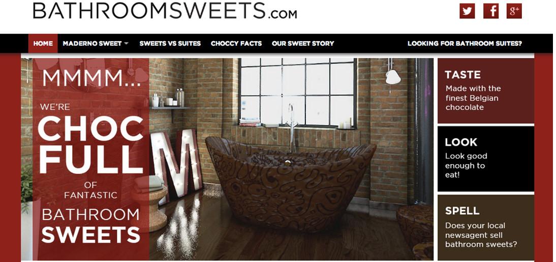 Bathroom Sweets Website