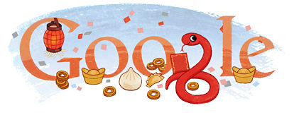 Play The Google Snake Logo Made For Chinese New Year State Of Digital